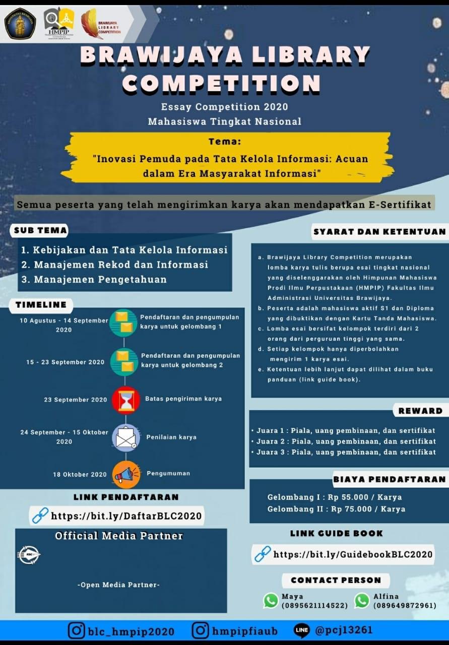 15ba1bb00e brawijaya library competition 2020 brochure
