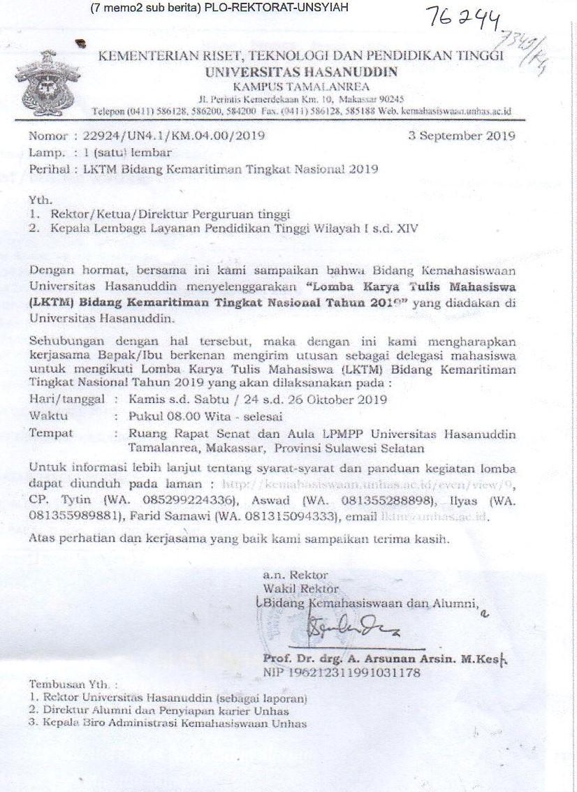 LKMT Universits Hasanuddin Makassar