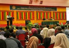 Kuliah Umum oleh Direktur Jenderal Bina Konstruksi Pekerjaan Umum dan Perumahan Rakyat (PUPR)