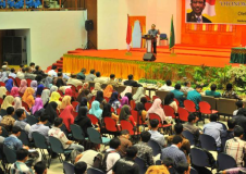 Temu Mahasiswa Bidikmisi dan ADik Papua Wilayah Aceh dan kuliah Umum oleh Menteri Riset, Teknologi dan Pendidikan Tinggi