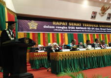 Rapat Senat Terbuka Universitas Syiah Kuala Dalam Rangka Milad Ke-56 dan Orasi Ilmiah Oleh Laksamana TNI (Purn) Dr. Marsetio, M.M