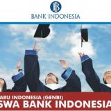 Beasiswa Bank Indonesia (BI) Tahun 2017 telah dibuka, Ayo Daftar !