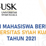 Pemilihan Mahasiswa Berprestasi (Pilmapres) Universitas Syiah Kuala Tahun 2021