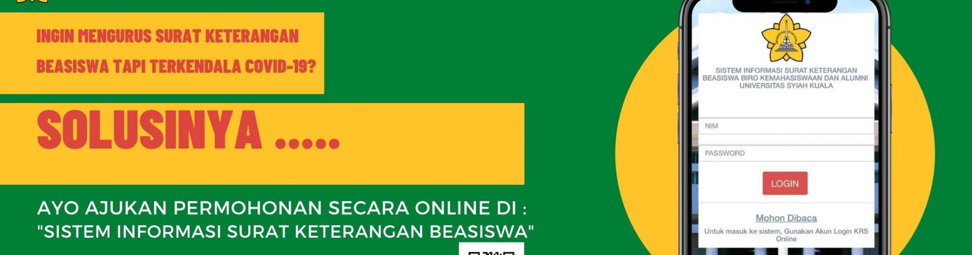 Sistem Informasi Surat Keterangan Beasiswa